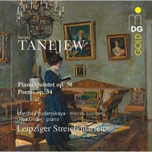Taneyev: Piano Quintet & Poems Op.34