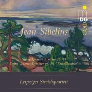 Sibelius: String Quartets Op. 56 & JS 183