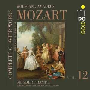 Mozart - Complete Piano Works Volume 12