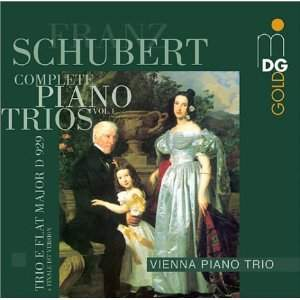Schubert: Complete Piano Trios Vol 1