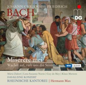 Johann Christoph Friedrich Bach: Miserere mei