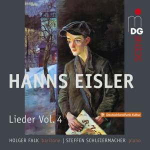 Eisler: Lieder Vol. 4 - Songs 1917-1927 Product Image