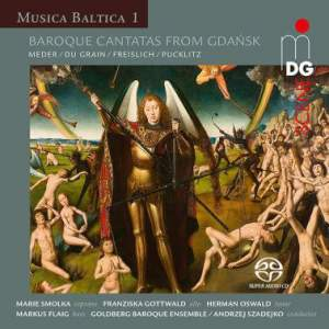 Musica Baltica Vol. 1: Baroque Cantatas From Gdansk