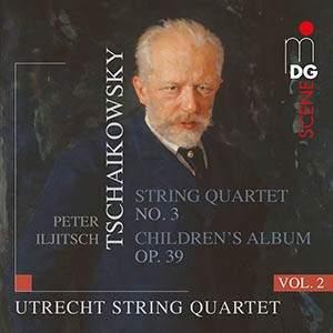 Tchaikovsky - Complete String Quartets Volume 2