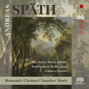 Andreas Späth: Chamber Music for Clarinet, Piano & String Quartet