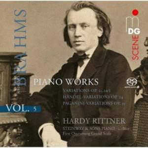 Brahms: Piano Music Volume 5