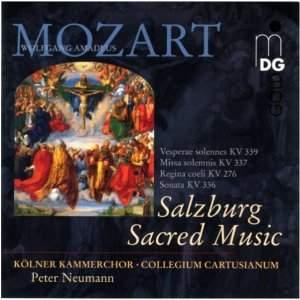 Mozart: Salzburg Sacred Music