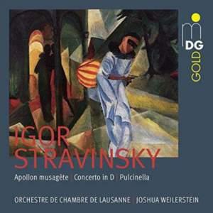 Stravinsky: Apollon Musagète, Concerto In D & Pulcinella