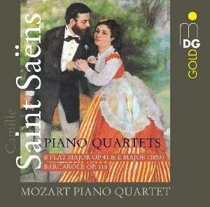 Saint-Saëns - Piano Quartets