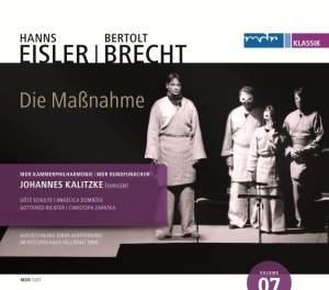 Eisler: Die Massnahme, Op. 20 Product Image
