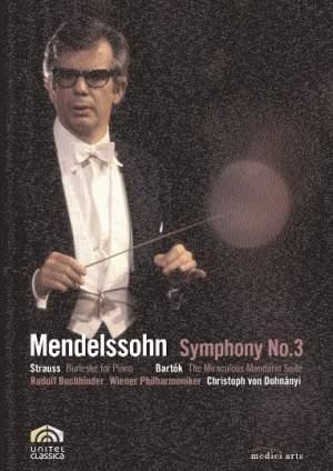 Christoph von Dohnányi conducts Mendelssohn, Bartók & Strauss