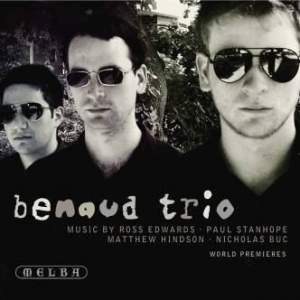 Piano Trios by Ross Edwards, Paul Stanhope, Matthew Hindson & Nicholas Buc