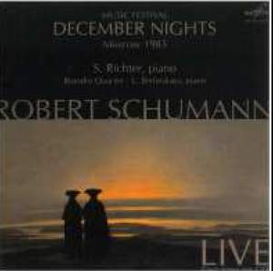 Schumann: Music Festival December Nights, Moscow 1985 Product Image