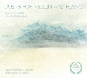 David Oistrakh plays Schubert & Brahms