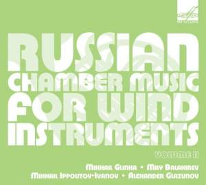 Russian Chamber Music for Wind Instruments (Volume II)