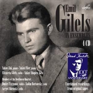 Emil Gilels In Ensembles