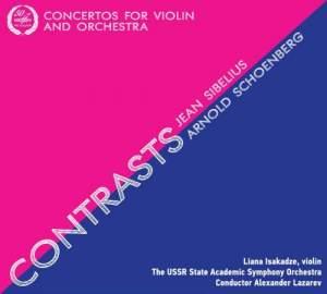 Contrasts: Violin Concertos of Sibelius & Schoenberg