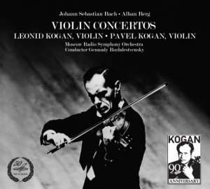 Violin Concertos: Leonid Kogan & Pavel Kogan Product Image