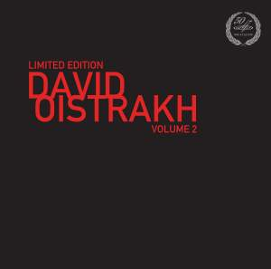 David Oistrakh Vol. 2 - Vinyl Edition