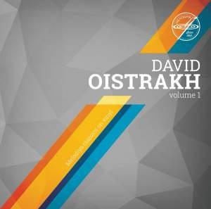 David Oistrakh Volume 1 - Vinyl Edition