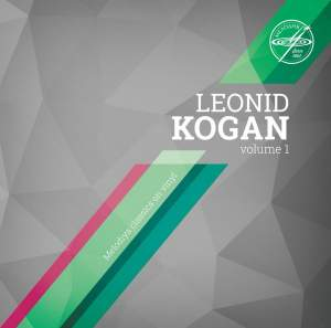 Leonid Kogan Volume 1 - Vinyl Edition