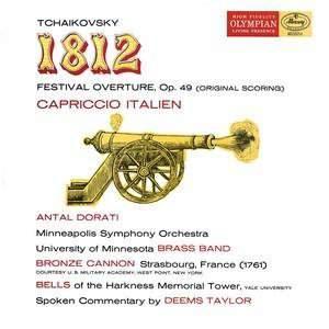 """Tchaikovsky: """"1812"""" Overture & Capriccio Italien - Vinyl Edition"""