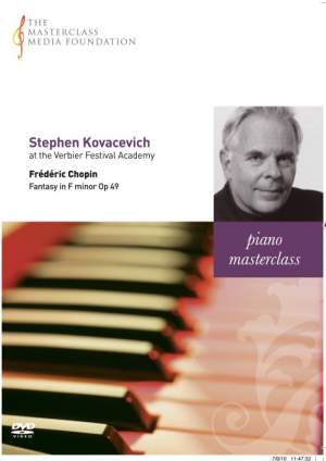 Stephen Kovacevich - Chopin: Fantasia in F minor, Op. 49