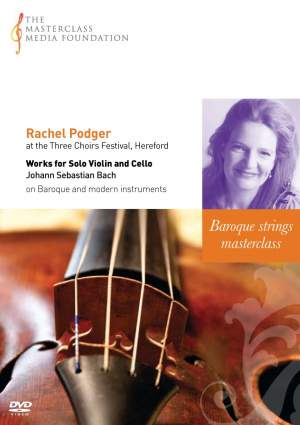 Rachel Podger at the Three Choirs Festival