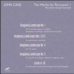 Cage: The Works for Percussion I