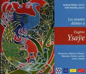 Les sonates dediees a Eugene Ysaye