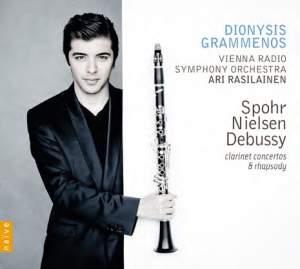Spohr, Nielsen, Debussy: Clarinet Concertos and Rhapsody