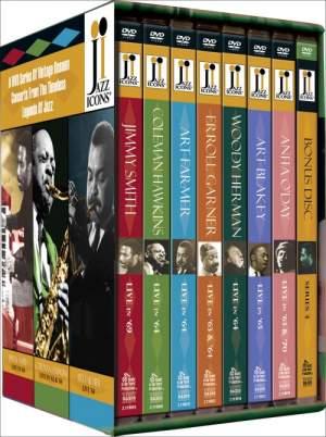 Jazz Icons 4 - Boxed Set Product Image
