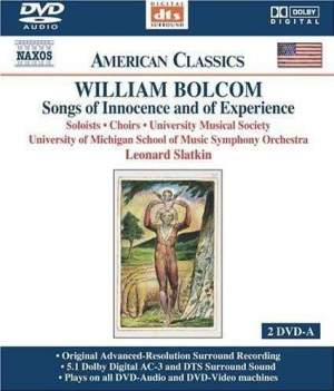Bolcom: Songs of Innocence and of Experience (William Blake)
