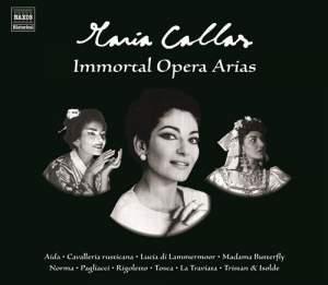 Maria Callas: Immortal Opera Arias