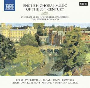 English Choral Music of the 20th Century
