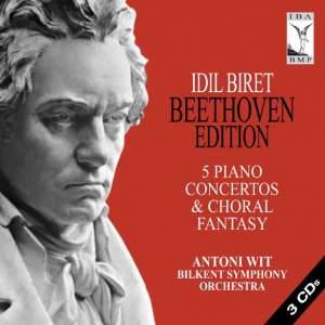 Beethoven: Complete Piano Concertos & Choral Fantasy