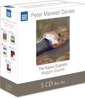 Davies, Peter Maxwell: Naxos Quartets Nos. 1-10 (complete) Product Image