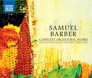 Barber: Complete Orchestral Works Product Image