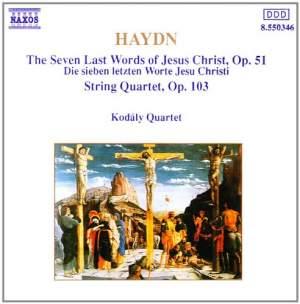 Haydn: String Quartets Op. 51 & Op. 103 Product Image