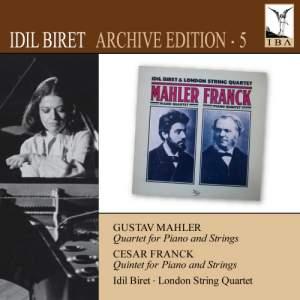 Idil Biret Archive Edition Volume 5 - Mahler & Franck Product Image