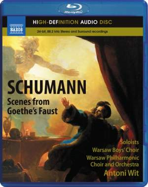 Schumann: Scenes from Goethe's Faust, WoO 3 Product Image