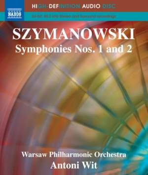 Szymanowski: Symphonies Nos. 1 & 2 Product Image