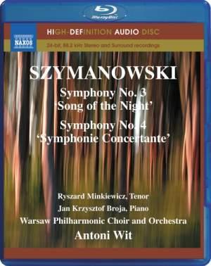 Szymanowski: Symphonies Nos. 3 & 4 Product Image