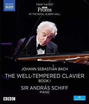 J S Bach: The Well-Tempered Clavier, Book I Product Image
