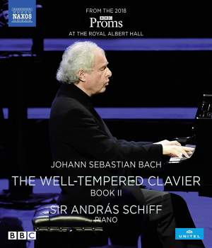 JS Bach: The Well-Tempered Clavier, Book II Product Image