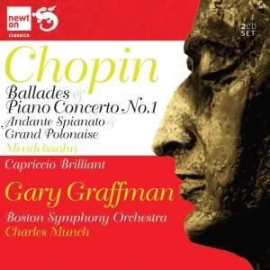 Chopin: Piano Concerto No. 1 & Andante spianato and Grande Polonaise Product Image