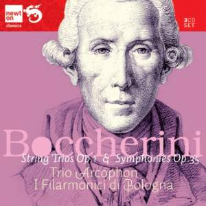 Boccherini: Six Trios Op. 1 & Six Sinfonias Op.35 Product Image