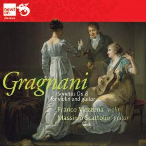 Gragnani: Three Duos for Violin & Guitar Op. 8 Product Image