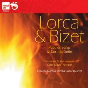 Lorca & Bizet: Popular songs & Carmen suite Product Image