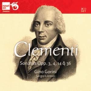 Clementi: Sonatas Opp. 3, 4, 14 & 36